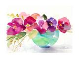 Bowl of Blooms Affischer av Lanie Loreth
