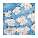 Dry Linen II Print by  Kingsley