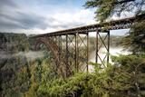 New River Gorge Bridge Reproduction photographique par Danny Head