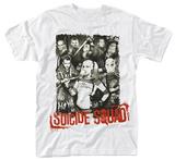 Suicide Squad- Red Logo Portrait Vêtements