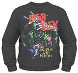 Crewneck Sweatshirt: Star Trek- Kirk vs Kirk - Tişört