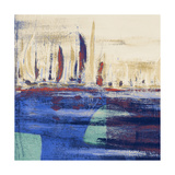 Blue Calm Waters Square I Prints by  Kingsley