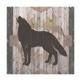 Southwest Lodge Animals II Print by  Vision Studio