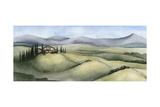 Watercolor Tuscany III Poster by Grace Popp