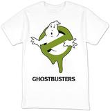 Ghostbusters- Green Slimed Logo Tshirts