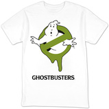 Ghostbusters- Green Slimed Logo Shirts