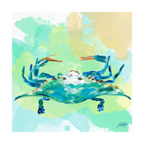 Watercolor Sea Creatures I Prints by Julie DeRice