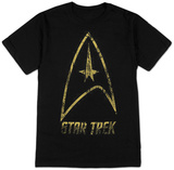 Star Trek- Distressed Classic Badge Shirts