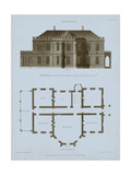 Chambray House & Plan III Prints by Thomas Kelly