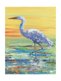 Egret Sunset II Posters by Olivia Brewington