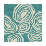 Mineral Motif I Prints by June Erica Vess