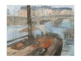 Venice Watercolors IV Reproduction giclée Premium par Samuel Dixon