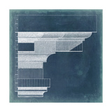 Capital Blueprint VI Print by  Vision Studio