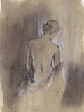 Contemporary Draped Figure II Posters by Ethan Harper