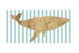 Pin Stripe Whale I Posters by  Studio W