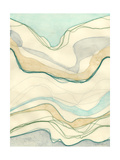 Ocean Cascade I Poster by Vanna Lam