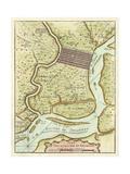 Petite Map of Philadelphia Poster