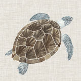 Sea Turtle I Poster by Naomi McCavitt