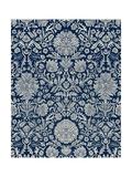 Baroque Tapestry in Navy II Prints by  Vision Studio