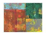 Colorful Leaf Imprint I Prints by Elena Ray