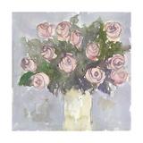 Bouquet à l'aquarelle II Reproduction giclée Premium par Samuel Dixon