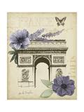 Paris Ephemera I Posters by Grace Popp
