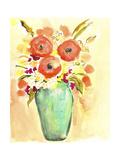 Flower Vase III Posters by Julia Minasian