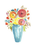 Flower Vase II Prints by Julia Minasian