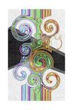 Twirl III Posters by James Burghardt