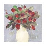 Bouquet à l'aquarelle I Reproduction giclée Premium par Samuel Dixon