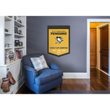 Pittsburgh Penguins Stanley Cup Champions Banner Wall Decal
