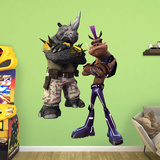 Bebop and Rocksteady - Teenage Mutant Ninja Turtles: Out of the Shadows Wall Decal