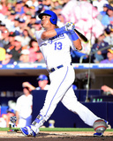 Salvador Perez Home Run 2016 MLB All-Star Game Photo