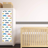 Transportation Theme Nursery Dr Pack Wall Decal