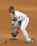 Victor Martinez 2009 Action Photo