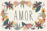 Amor Bouquet in Beige Posters by Lila Fe