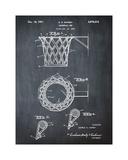 Basketball net, 1950-Chalkboar Giclee Print by Bill Cannon