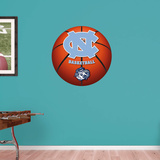 North Carolina Tar Heels Basketball Logo Wall Decal