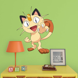 Pokemon - Meowth - Fathead Jr Wall Decal