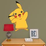 Pokemon - Pikachu - Fathead Jr Kalkomania ścienna