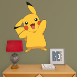 Pokemon - Pikachu - Fathead Jr Vinilo decorativo