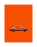 BMW CLS 1972 Giclee Print by Mark Rogan