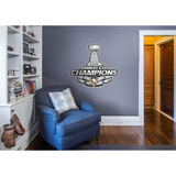 Pittsburgh Penguins 2016 Stanley Cup Champions Logo Wall Decal