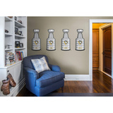 Pittsburgh Penguins Stanley Cup Collection Wall Decal