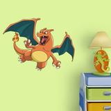 Pokemon - Charizard - Fathead Jr Kalkomania ścienna