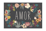 Amor Bouquet in Grey Prints by Lila Fe