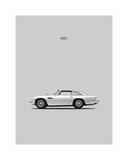 Aston DB5 1965 Giclee Print by Mark Rogan