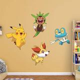 Pokemon - Kalos First Partner Collection - Duvar Çıkartması