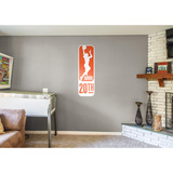 WNBA 20th Anniversary Logo Wall Decal