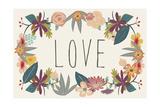 Love Bouquet in Beige Prints by Lila Fe